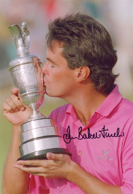 Ian Baker-Finch, Open Champion 1991, signed 12x8 inch photo.